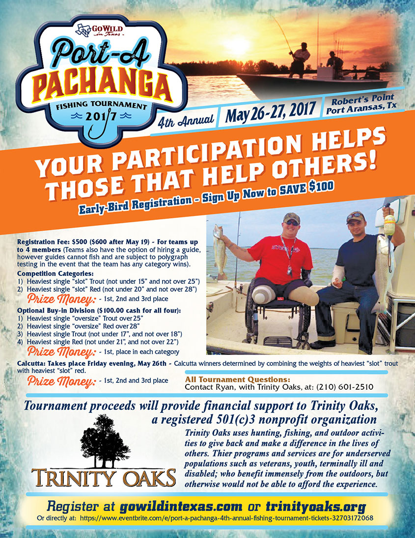 2017 Pachanga Fishing Tournament