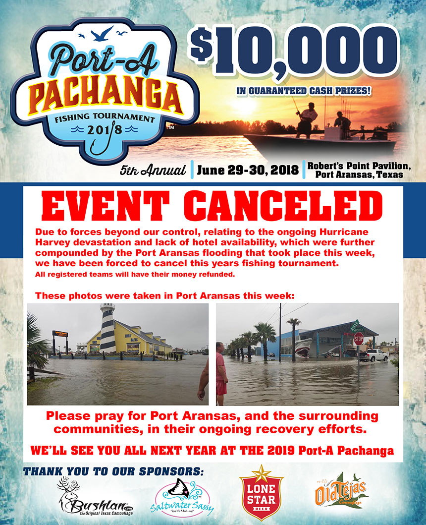 2018 Pachanga Event Flyer